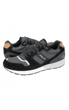 Polo Ralph Lauren ανδρικά sneakers TRAIN100-SK-ATH BLK/GRY 809669838007