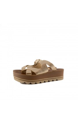 FANTASY SANDALS S 6001 VERA TOBACCO ROSE VOLKANO ΧΑΛΚΟΣ