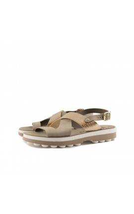 FANTASY SANDALS S 9007 AURELIA COFFEE VOLCANO