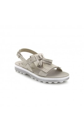 FANTASY SANDALS S 9010 ANNA GREY GLITTER