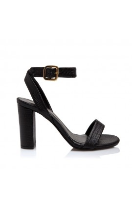 Sante Sandals 20-198-01 Μαύρο