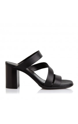Sante Sandals 20-205-01 ΜΑΥΡΟ