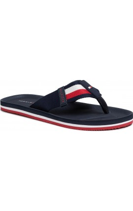TOMMY HILFIGER Sporty Corporate Beach Sandal FM0FM02754 Desert Sky DW5