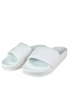 Superdry Slides Arizona High Build Flatform WF310018A-01C White