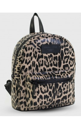 KENDALL + KYLIE MINI BACKPACK PRINTED CHEETAH HBKK-220-0004A-3