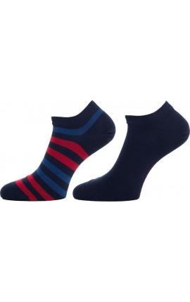TOMMY HILFIGER 382000001  085 Σετ 2 ζευγάρια κοντές κάλτσες ανδρικές