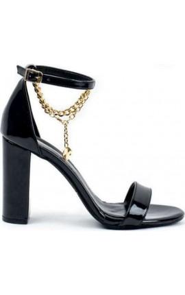 Sante Sandals 21-219-01 Μαύρο