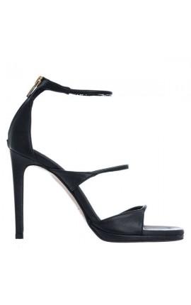 Snte Sandals 21-262-01 ΜΑΥΡΟ
