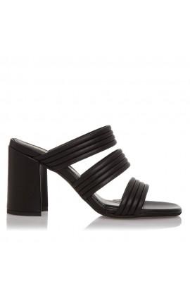 Sante Sandals 21-214-01 ΜΑΥΡΟ