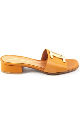 Sante Sandals 20-201-01 ΜΑΥΡΟ