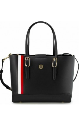 Hilfiger Honey Med Tote AW0AW09920 0GY Μπλε