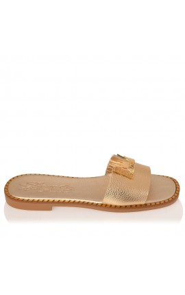 Sante Sandals 21-302-20 ΧΡΥΣΟ