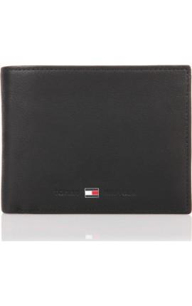 TOMMY HILFIGER - Johnson Cc And Coin Pocket  AM0AM00659 Black 002