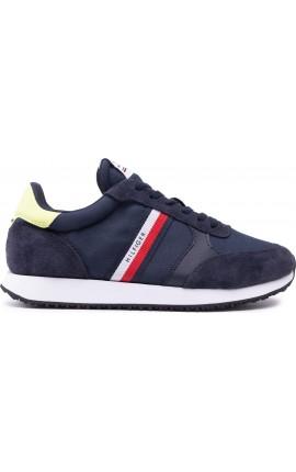 Tommy Hilfiger Runner Mix Stripes παπούτσια sneakers FM0FM03616-DW5