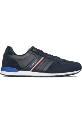 TOMMY HILFIGER CASUAL ICONIC RUNNER-NAVY FM0FM03743-DW5