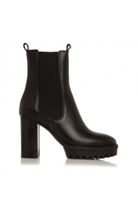 Sante Day2Day Booties 21-444-01 ΜΑΥΡΟ