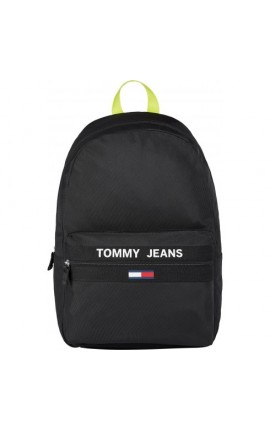 TOMMY JEANS ESSENTIAL BACKPACK BLACK BDS AM0AM07766
