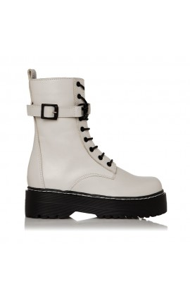 Sante Day2Day Booties 21-432-16 OFF WHITE